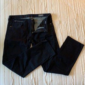 Bonobos dark rinse jeans, straight